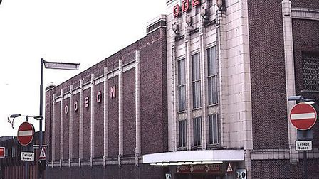 The site was previously home to the town's odeon cinema. Photo: Archant.
