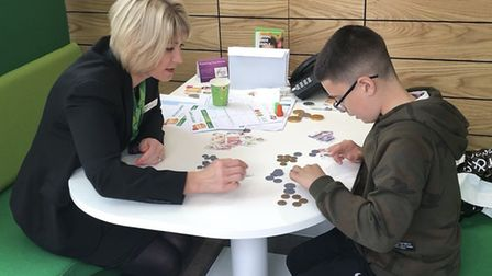 Yorkshire Building Society in Ipswich is holding a special free event during October half term offer