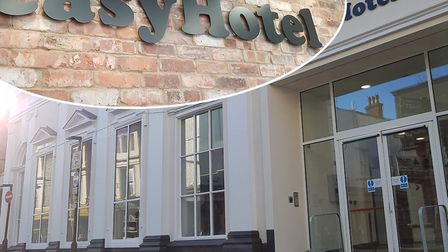 A man has denied causing criminal damage at easyHotel in Ipswich Picture: RACHEL EDGE