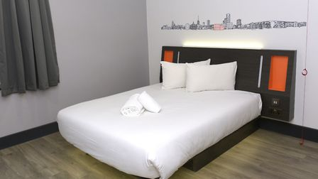 Rooms at easyHotel start from �14.99 Picture: SARAH LUCY BROWN