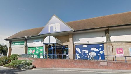 Mothercare at the Copdock Mill Interchange, Ipswich - one of 79 remaining stores facing closure Pic