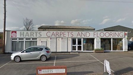 Hart Carpets and Flooring in Dales Road, Ipswich Picture: GOOGLE