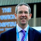Neill Moloney, ESNEFT deputy chief executive Picture: ANDY ABBOTT