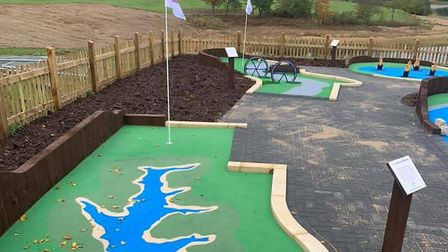 Anglian Water are bringing a brand new mini golf course to Ipswich. Picture: ANGLIAN WATER