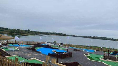 Alton Water is bringing a brand new miniature golf course to Ipswich. Picture: ANGLIAN WATER