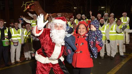 The Ipswich Roundtable's annual Rudolph Run is very popular with local families Picture: SARAH LUCY