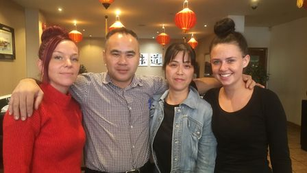 Lanterns Chinese restaurant in Falcon Street, Ipswich was shortlisted for Business of the Year (Cate
