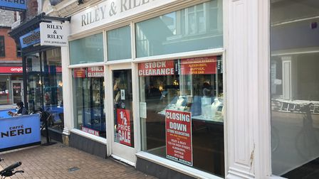 Almost 10% of shops in Ipswich town centre are vacant Photo: ARCHANT
