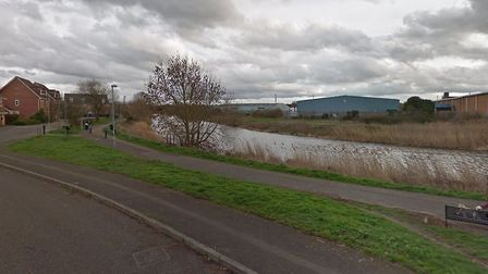 A woman in her 20s was rescued from the River Gipping, in Ipswich Picture: GOOGLE