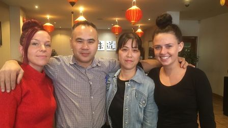 Lanterns Chinese restaurant in Falcon Street, Ipswich has been shortlisted for Business of the Year