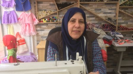 Hatice Arslan at Stichworld in Westgate Street is shortlisted in the Women Entrepreneur of the Year