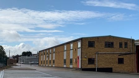 GMA Warehousing's new facility at Leslie Road, Ipswich Picture: GMA WAREHOUSING