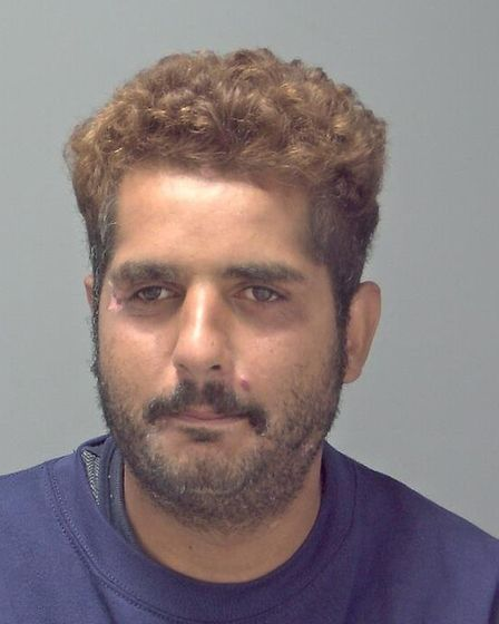 Abbas Mohamed, 28, of Harts Lane, Barking has been jailed for 28 months Picture: SUFFOLK CONSTABULAR