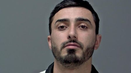 Cristi Bahica has been jailed after a violent brawl in Norwich Road, Ipswich Picture: SUFFOLK CONSTA