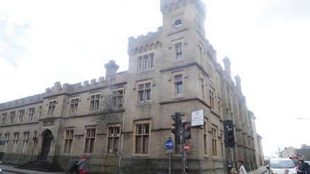 Former County Hall, Ipswich, needs urgent repairs. Picture: LUCY TAYLOR