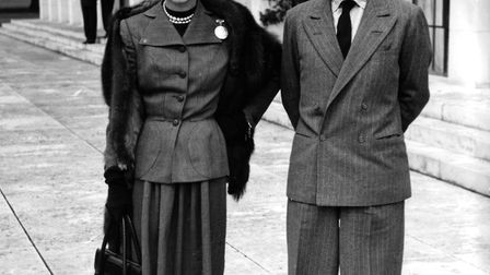 Wallis Simpson and King Edward VIII. Picture: DAVID KINDRED ARCHIVE