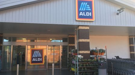 New vegan meals are on trial at the Aldi store in Meredith Road, Ipswich. Picture: DAVID VINCENT