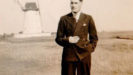 Maurice Pink, probably in his demob suit Picture: Pink family archive