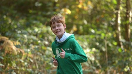 Younger runners got to take part in a fun run Picture: SARAH LUCY BROWN