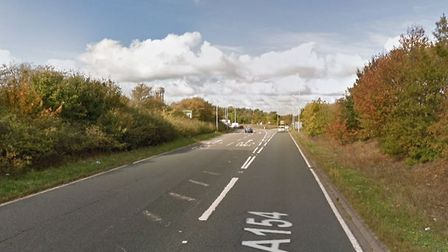 A Land Rover has rboken down in Felixstowe and is causing delays. Picture: GOOGLE MAPS