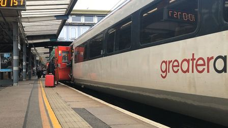 Disruption is expected until further notice between Ipswich and Felixstowe. Picture: NEIL PERRY