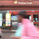 People walk past the Thomas Cook store in Ipswich Town Centre Picture: SARAH LUCY BROWN