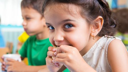 Children can eat for free or �1 at various restaurants. Picture: GETTY IMAGES/ISTOCKPHOTO