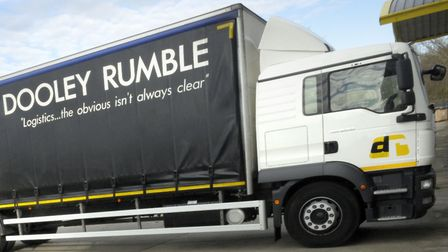A Dooley Rumble liveried lorry, which has become a familiar sight on Suffolk's roads Picture: SU AN