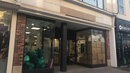 Cards Direct is opening a new store in Westgate Street in Ipswich town centre. Picture: ARCHANT