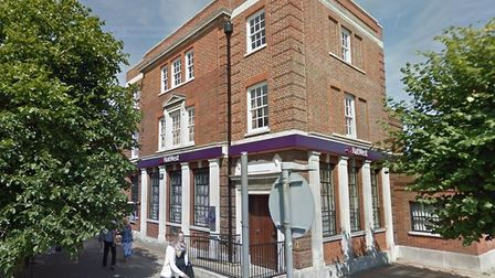 The former NatWest Bank in Felixstowe - it could become a restaurant Picture: GOOGLE MAPS