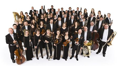The Royal Philharmonic Orchestra performed at the Ipswich Regent's 90th birthday concert Picture: RP
