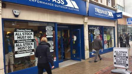 Trespass in Ipswich is due to close on December 6. Picture: ANDREW PAPWORTH