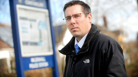 Detective Superintendent David Giles said public protection remained the highest priority Picture: