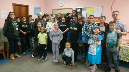 Reflections Youth Club, at Nansen Road Baptist Church, has been visited in recent weeks by the mayor