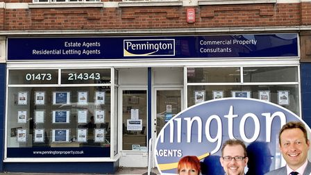 Pennington Estate Agents in Crown Street, Ipswich, is celebrating its 30th anniversary. Photo: Penni