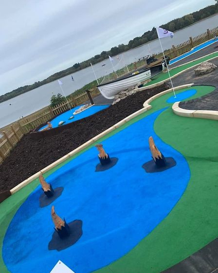 Alton Water is bringing a brand new miniature golf course to Ipswich which will be nine holes long a