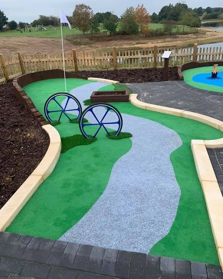 Alton Water is bringing a brand new miniature golf course to Ipswich imminently. Picture: ANGLIAN WA