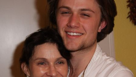 Henry with his mum Pippa on his 18th birthday Picture: SUBMITTED BY FAMILY