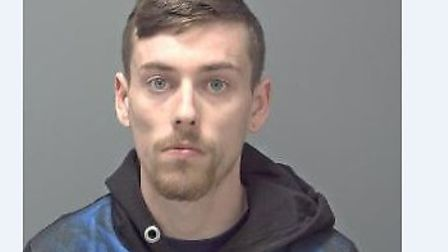 Jordan Clarke has been sentenced to five and a half years in prison Picture: SUFFOLK CONSTABULARY