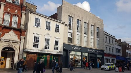 The Burton/Dorothy Perkins store in Tavern Street Ipswich is due to close early in 2020. Picture: PA