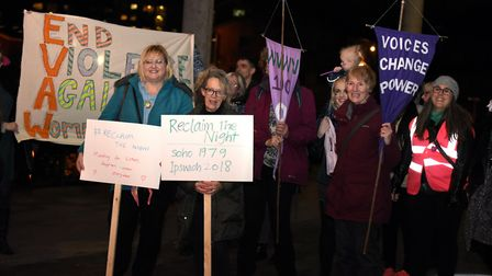 The march has been organised for a second year by Suffolk Rape Crisis Picture: SARAH LUCY BROWN