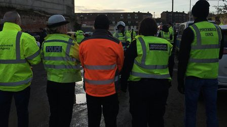 Suffolk police carried out a week of action against county lines drug activity and modern DAY slaver