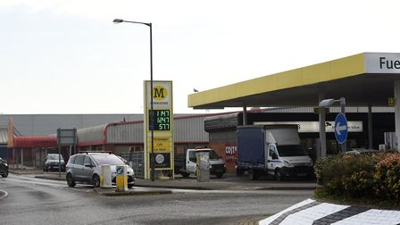 Changes are also going to be made to the petrol station. Picture: SARAH LUCY BROWN