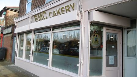 The new BMC bakery and cake shop in Clapgate Lane, Ipswich Picture: DAVID VINCENT