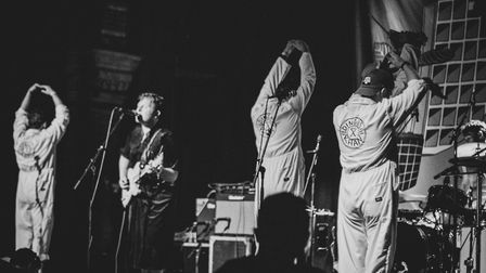 Dingus Khan performing at the Corn Exchange for Sound City Ipswich 2019. Picture: STUART GILSON