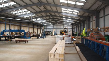 Holden Timber Engineering, which supplies the building industry, has moved to a new �1.5m factory at