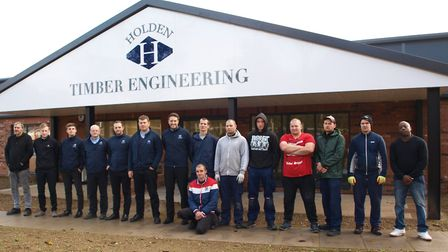 Holden Timber Engineering has moved to a new purpose-built �1.5m factory premises at the Paper Mill
