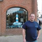 Felixstowe businessman Luke Rawson has opened the Lighthouse tea room and English bone china shop in
