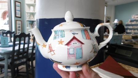 The Lighthouse tea room and bone china shop in Hamilton Road is selling a range of English produced