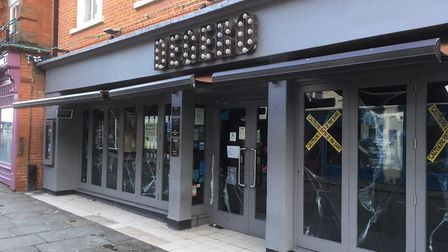 Degero cocktail bar in St Nicholas Street, where the incident happened Picture: ARCHANT